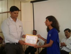 Shraddha Pawde- Inter-Zonals University competition 2017-18- Chess