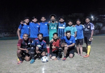 I²IT Team Football won the SBIIMS Tournament 2019