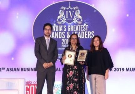 """""""Great Leader"""" Award instituted by AsiaOne Magazine & UWG Media Consulting P.L."""