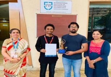Congratulations Ninad and Aryan on becoming finalists at the Hyundai Motor India Foundation (HMIF)'s 'H-Social Creator'